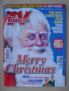 <!--2002-12-21-->TV Times magazine - Christmas 2002 Issue (21 December 2002