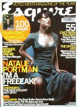 <!--2004-09-->Esquire magazine - Natalie Portman / Joaquin Phoenix cover (S