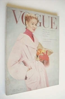 British Vogue magazine - April 1954 (Vintage Issue)
