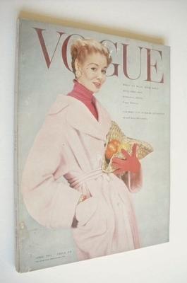 <!--1954-04-->British Vogue magazine - April 1954 (Vintage Issue)