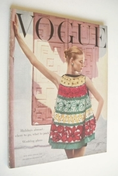 British Vogue magazine - May 1954 (Vintage Issue)