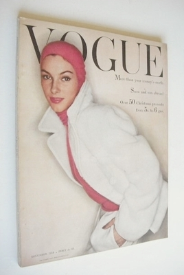 <!--1954-11-->British Vogue magazine - November 1954 (Vintage Issue)