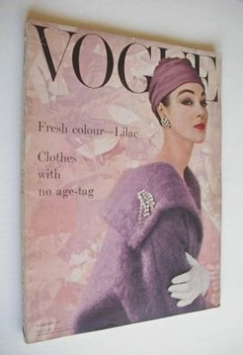 <!--1956-02-->British Vogue magazine - February 1956 (Vintage Issue)