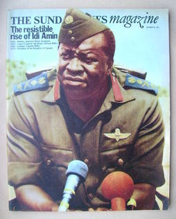 <!--1972-10-29-->The Sunday Times magazine - Idi Amin cover (29 October 197