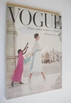 British Vogue magazine - November 1956 (Vintage Issue)