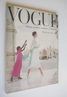 <!--1956-11-->British Vogue magazine - November 1956 (Vintage Issue)