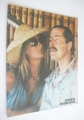 <!--1975-06-08-->The Sunday Times magazine - Lord Lucan and Annabel Birley