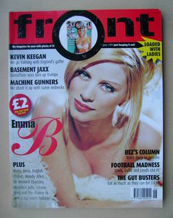 <!--1999-06-->Front magazine - Emma B cover (June 1999)