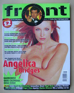 Front magazine - Angelica Bridges cover (January 1999)