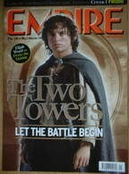 <!--2003-01-->Empire magazine - Elijah Wood Frodo Collector's cover (January 2003 - Issue 163)