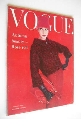 <!--1956-08-->British Vogue magazine - August 1956 (Vintage Issue)
