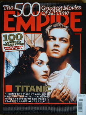 <!--2008-11-->Empire magazine - Kate Winslet and Leonardo DiCaprio Titanic