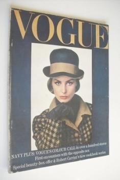 British Vogue magazine - February 1964 (Vintage Issue)