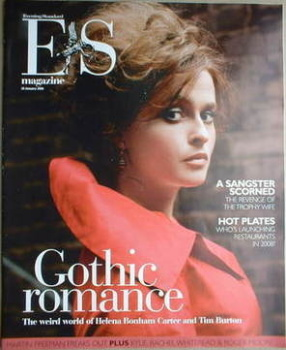 Evening Standard magazine - Helena Bonham Carter cover (18 January 2008)