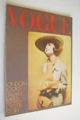 <!--1964-03-15-->British Vogue magazine - 15 March 1964 (Vintage Issue)