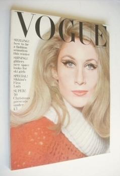 British Vogue magazine - November 1964 - Jane Holzer cover