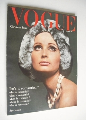 <!--1964-12-->British Vogue magazine - December 1964 (Vintage Xmas Issue)