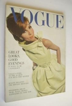 British Vogue magazine - 1 October 1964 (Vintage Issue)