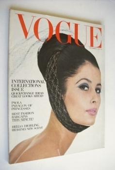 British Vogue magazine - 1 September 1964 (Vintage Issue)