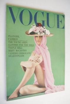 British Vogue magazine - July 1964 (Vintage Issue)