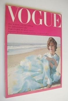 British Vogue magazine - June 1964 (Vintage Issue)