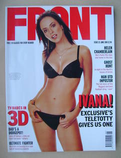 <!--2001-06-->Front magazine - Ivana Horvat cover (June 2001)