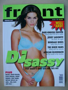 Front magazine - DJ Sassy cover (October 1999)