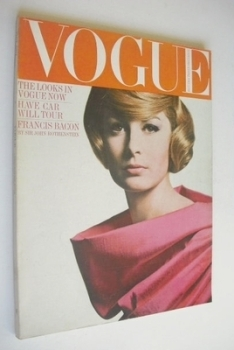 British Vogue magazine - May 1964 (Vintage Issue)