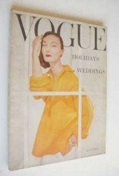 British Vogue magazine - May 1956 (Vintage Issue)