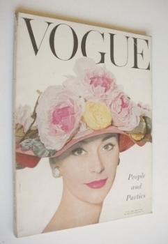 British Vogue magazine - June 1956 (Vintage Issue)