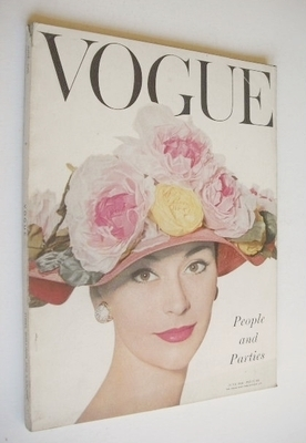 <!--1956-06-->British Vogue magazine - June 1956 (Vintage Issue)