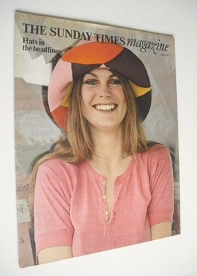 <!--1971-06-20-->The Sunday Times magazine - Hats In The Headlines cover (2