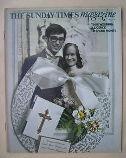 <!--1971-04-11-->The Sunday Times magazine - Your Wedding: A Licence To Spe