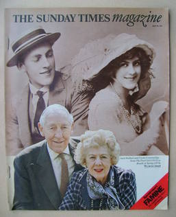 <!--1974-07-28-->The Sunday Times magazine - Jack Hulbert and Cicely Courtn