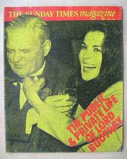 <!--1973-04-01-->The Sunday Times magazine - Lord Boothby and Lady Boothby
