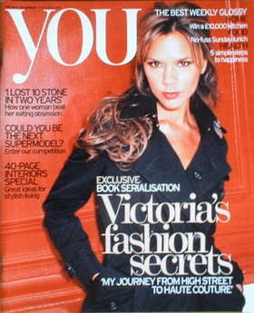 <!--2006-10-15-->You magazine - Victoria Beckham cover (15 October 2006)