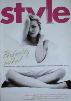 Style magazine - Sophie Dahl cover (27 March 2005)