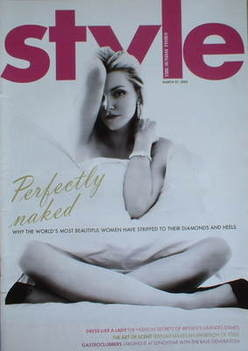 <!--2005-03-27-->Style magazine - Sophie Dahl cover (27 March 2005)