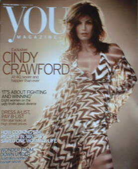 <!--2006-02-19-->You magazine - Cindy Crawford cover (19 February 2006)