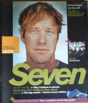Seven magazine - Aaron Eckhart cover (21 May 2006)