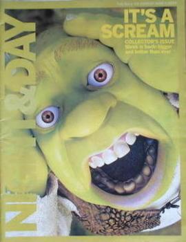 Night & Day magazine - Shrek 2 cover (6 June 2004)