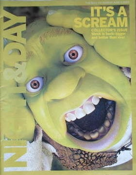Night & Day magazine - Shrek 2 cover (6 June 2004)