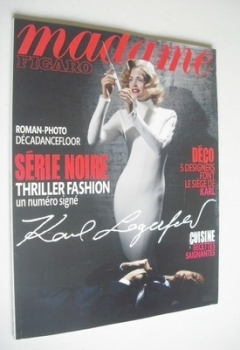 Madame Figaro magazine - 25 September 2010 - Heidi Mount cover