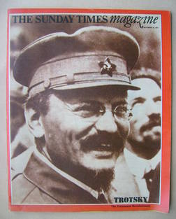 <!--1971-09-19-->The Sunday Times magazine - Leon Trotsky cover (19 Septemb