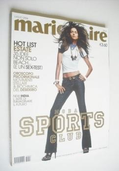 Italian Marie Claire magazine - July 2006 - Lonneke Engel cover