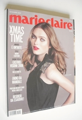 <!--2007-12-->Italian Marie Claire magazine - December 2007 - Sophie Vlamin