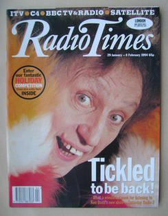 <!--1994-01-29-->Radio Times magazine - Ken Dodd cover (29 January-4 Februa