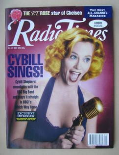 <!--1994-05-21-->Radio Times magazine - Cybill Shepherd cover (21-27 May 19