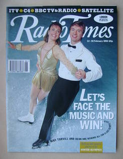 <!--1994-02-12-->Radio Times magazine - Jayne Torvill and Christopher Dean