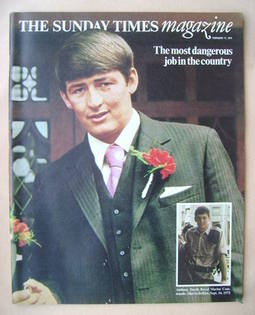 <!--1974-02-17-->The Sunday Times magazine - Anthony David cover (17 Februa